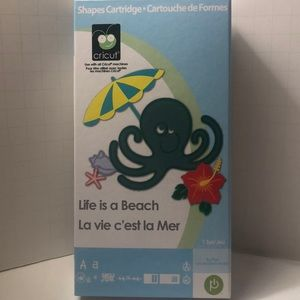 Cricut Life is a Beach -RETIRED